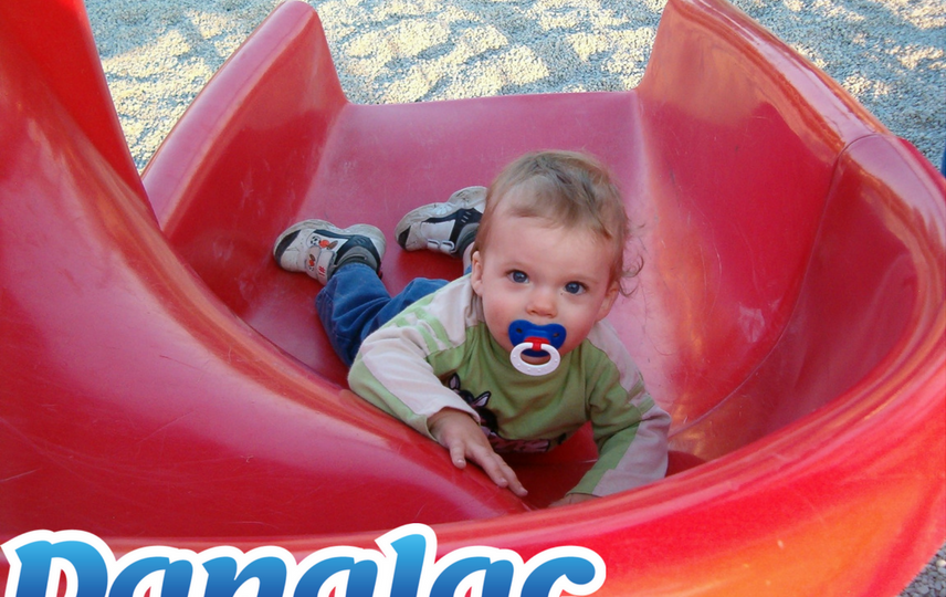 funniest places for a toddler