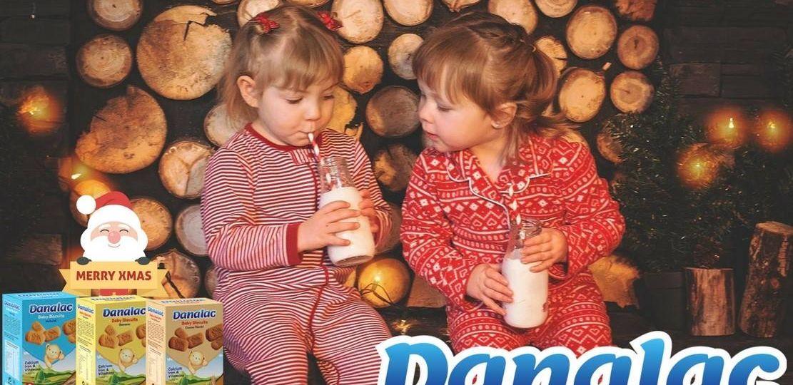 preparing milk and cookies for Santa