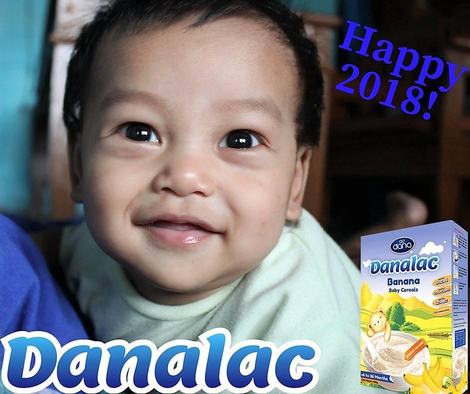Banana Baby Cereal DANALAC Wants To Wish You Happy New