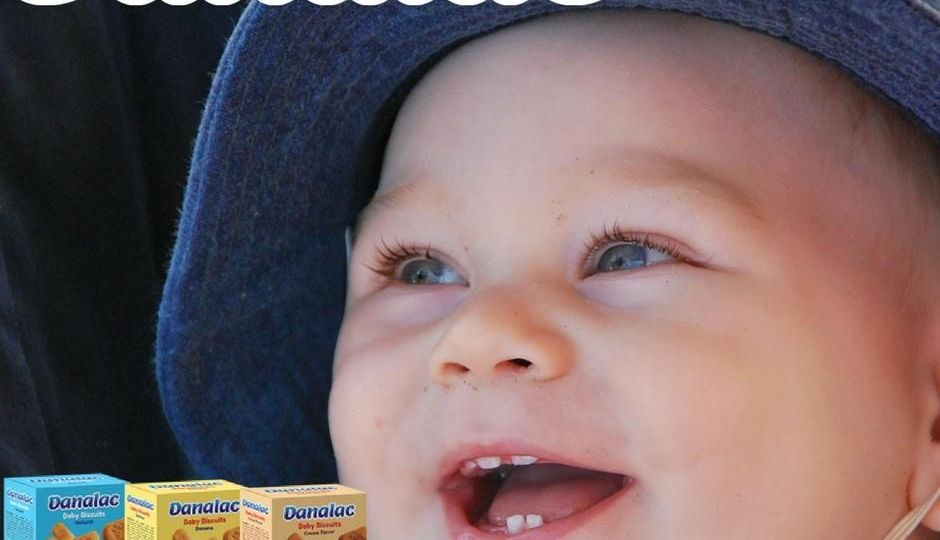Babies feel uncomfortable and in pain on their gums