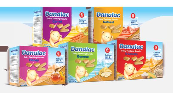 DANALAC Baby Teething Biscuit