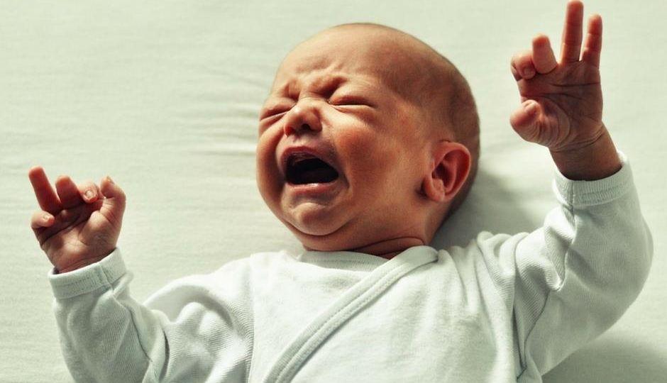 newborns baby scare