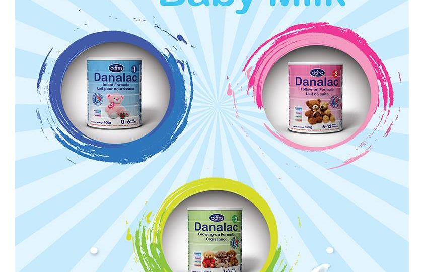Danalac infant formula