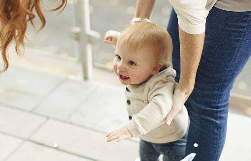 help baby walk